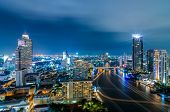 Cityscape de Bangkok.