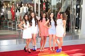 LOS ANGELES - FEB 14: Fifth Harmony at the Topshop Topman LA Grand Opening at The Grove on February