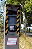 Radar On A French Road