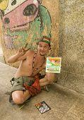 Brazilian Favela Finger Painter