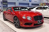 Bentley Continental Gt 2013 Chicago Auto Show