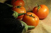 Tomatoes & Eggplanet