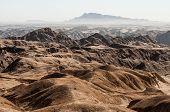 De vallei van de rivier van de Swakop