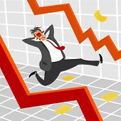 The crisis on the stock exchange and all the panic.