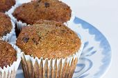 Fruit And Fibre Muffins