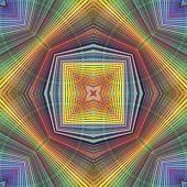 Funky pop art pattern