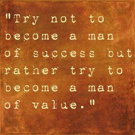 pic of einstein  - Inspirational quote by Albert Einstein on earthy brown background - JPG