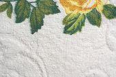 Color towel macro texture