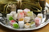 picture of baklava  - Turkish delight dessert   - JPG