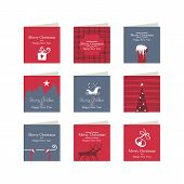 Christmas Mini Cards Set