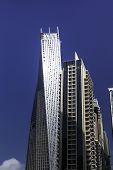 Luxury Blue Building Skyscraper