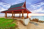 KOH KHO KHAO, THAILAND - NOV 7: Oriental architecture of Andaman Princess Resort & SPA. Hotel was destroyed by tsunami in 2004 and rebuild, Koh Kho Khao, Phang Nga in Thailand on Nov. 7, 2012.