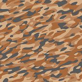 Camouflage Textile Pattern Orange Brown