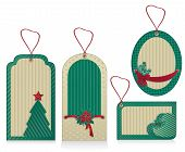 Christmas  Green Eco Labels