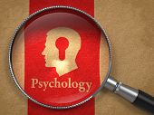 stock photo of keyhole  - Psychology Concept - JPG