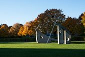 Solursparken Sun Dial in the Park