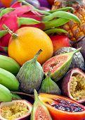 Fruit background .