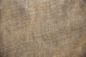 Rustic Old Fabric Burlap Texture Background Abstract.