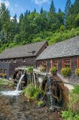 Hexenloch Watermill,Black Forest,Germany