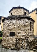 Tempietto Di Santa Croce In Old Bergamo, Italy