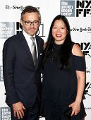 NEW YORK- OCT 8: Laurent Vinay and Rose Kuo attend the premiere of