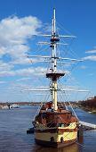 Wooden frigate