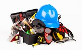 Construction worker tools