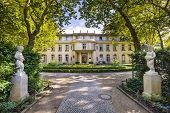 stock photo of nazi  - The Wannsee House in the Berlin suburb of Wannsee - JPG