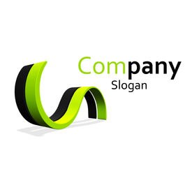 stock photo of logo  - This is a logo for a small company - JPG