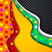 , multi layered abstract background