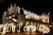 Jugglers In Krakow