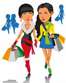 Girls And Shopping
