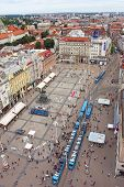 View Of Ban Jelacic Square, Zagreb