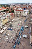 View Of Ban Jelacic Square, Zagreb