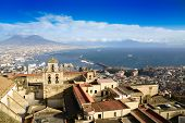 Gulf Of Naples And Mount Vesuvius