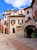 Quaint Italian houses