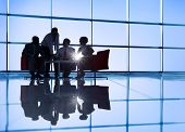 stock photo of recommendation  - International Business Group Meeting - JPG