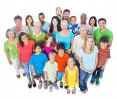 image of ethnic group  - Community with Diverse and Multi - JPG