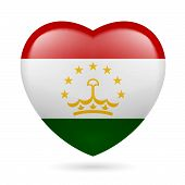 Heart icon of Tajikistan