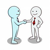 Businessman Shaking Hand