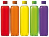 Bottle with various flavors