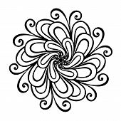 Beautiful Decorative Flower (Vector)
