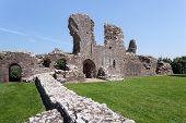 Llawhaden Castle Ruins, West Wales