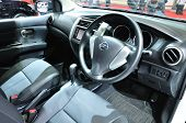Nonthaburi - March 25: Interior Design Of Nissan Livina On Display At The 35Th Bangkok International