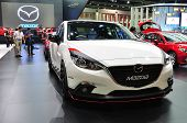 Nonthaburi - March 25: New Mazda 3 On Display At The 35Th Bangkok International Motor Show On March