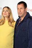 LOS ANGELES - MAR 27:  Drew Barrymore, Adam Sandler at the  CinemaCon 2014 - Warners Brothers Photoc