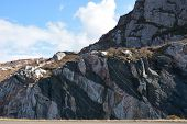 Colourful Rockface