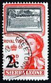 Postage Stamp Siera Leone 1961 Royal Charter, 1799