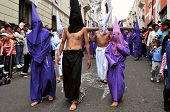 Catholic Procession On Good Friday In Quito, Ecuador