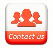 contact us button for feedback. Coordinates and address for customer support and extra information